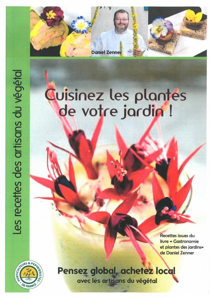 Cuisinez les plantes de votre jardin